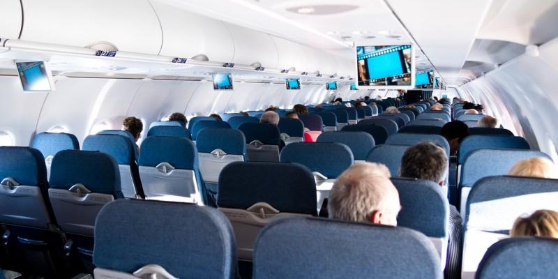 Reise mit dem Flugzeug