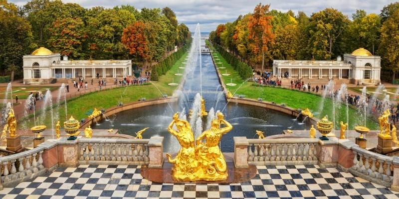 Park in Sankt Petersburg