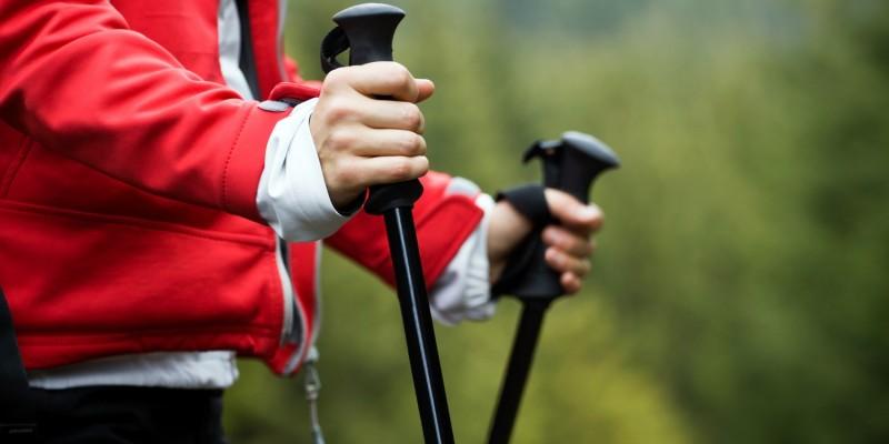 Stöcke fürs Nordic Walking