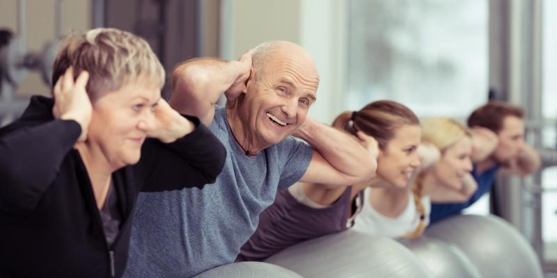 Fitnesstraining und Pilates