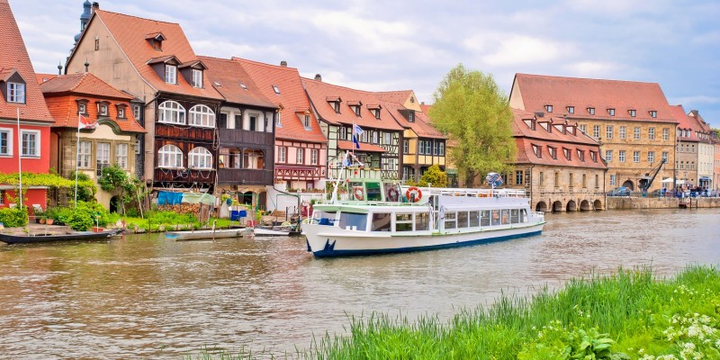 Ein Blick auf Bamberg